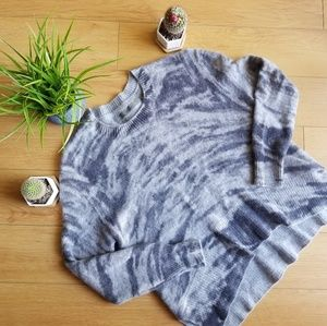 Enza Costa Marble 100% Cashmere Sweater